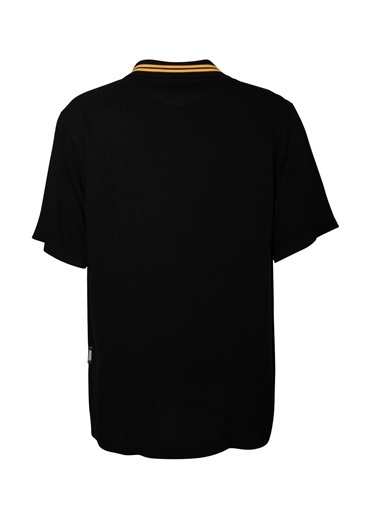 Huxel MUW001202 Yaka Detaylı Belmondo G Siyah
